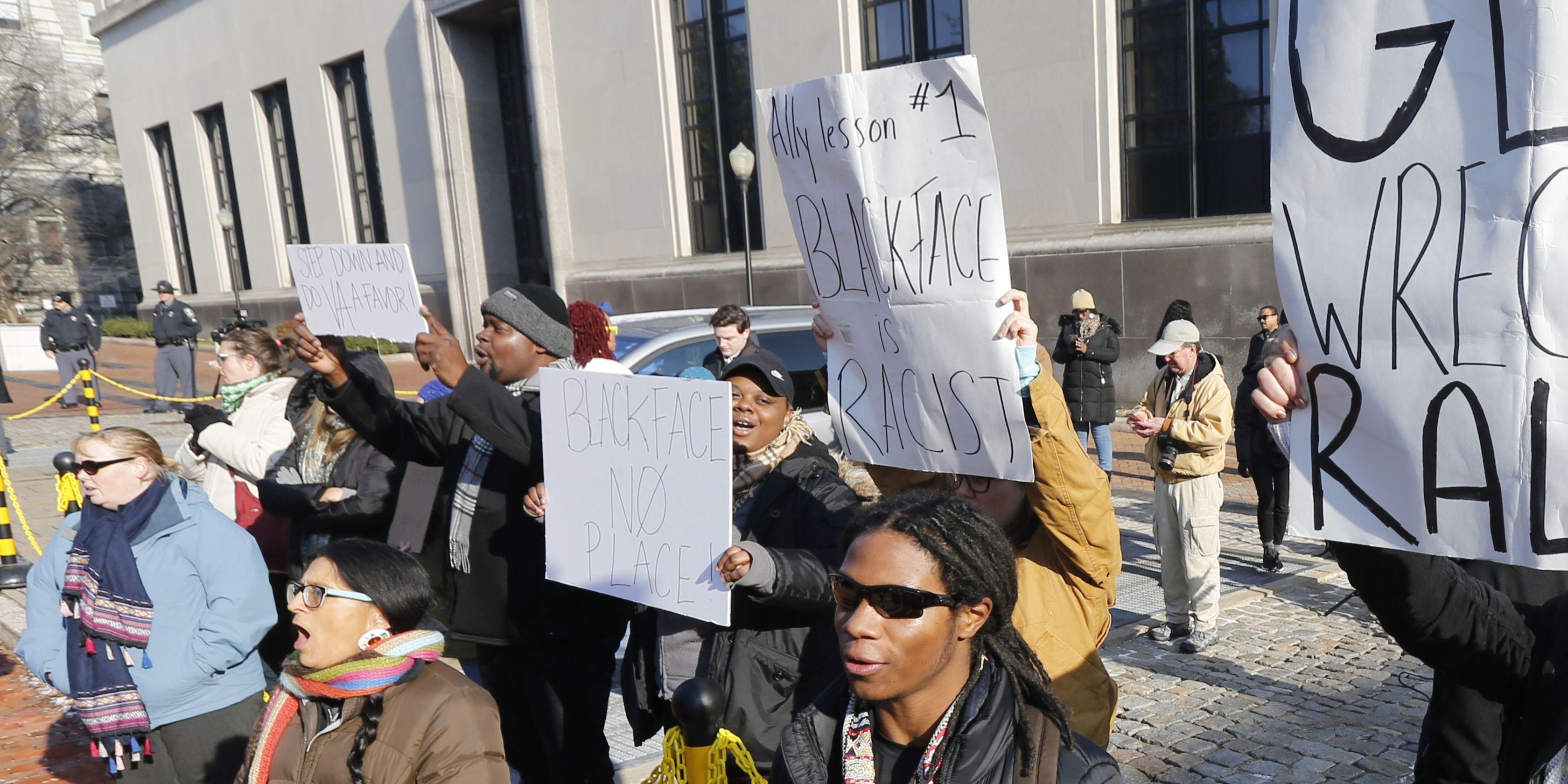 Blackface scandal spotlights deeply embedded racism in US
