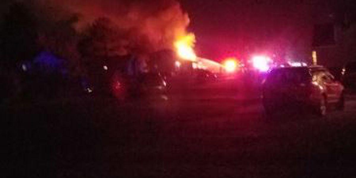 Fire crews battle Dinwiddie house fire