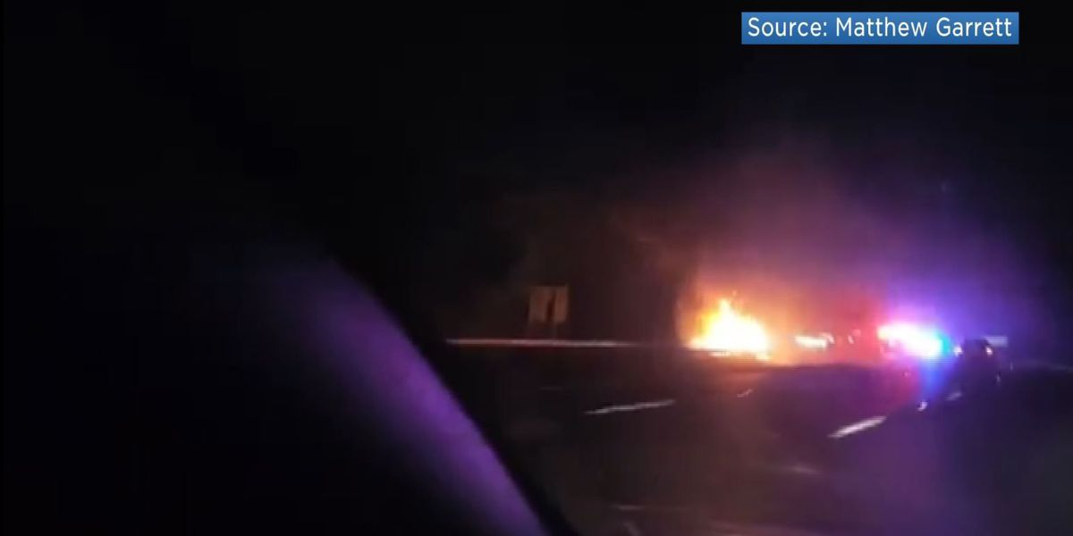 Woman and child sustain injuries from car fire in Henrico