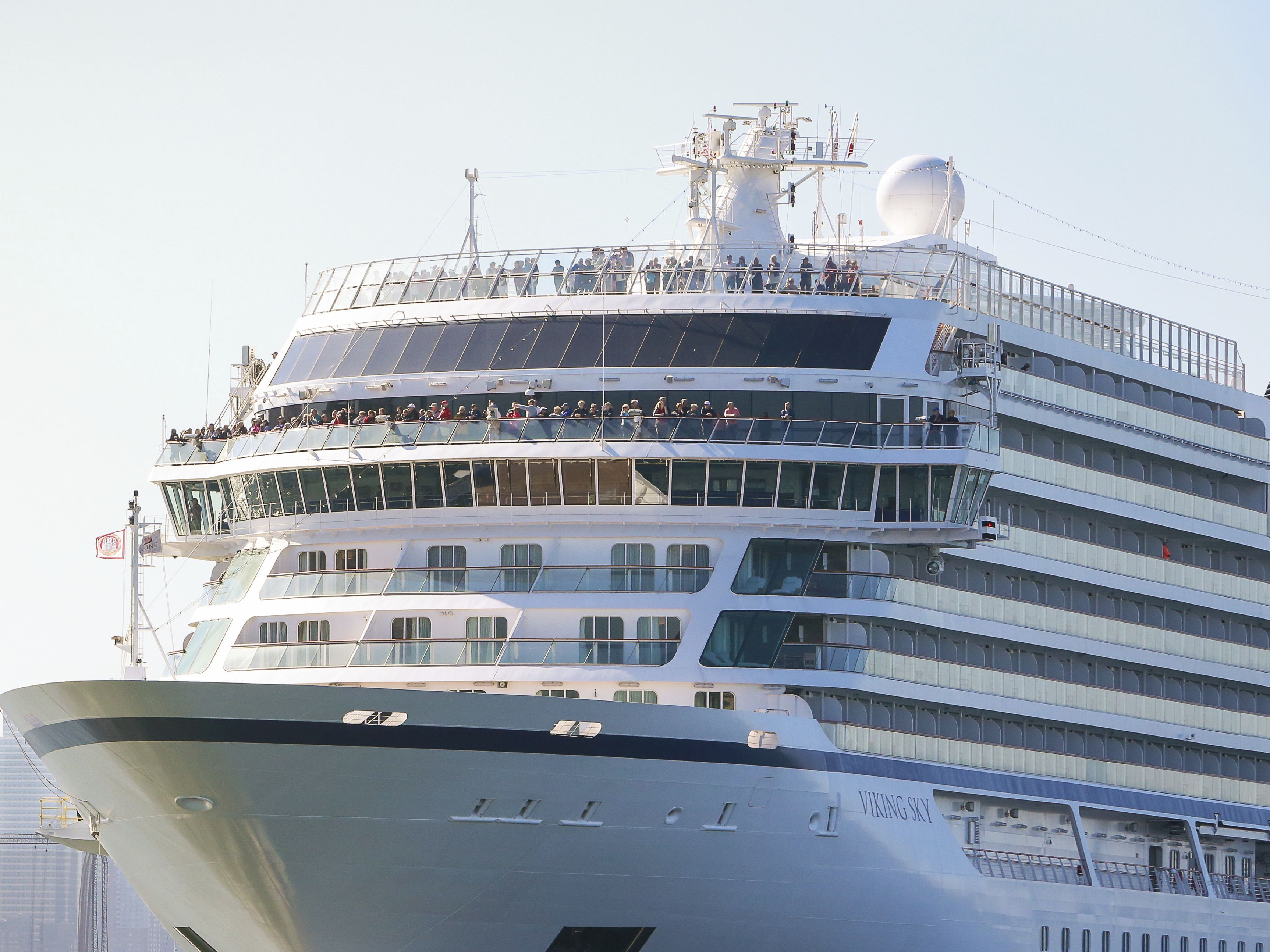 Rescue gets trickier for 1,300 aboard cruise ship in Norway as second ship needs help nearby