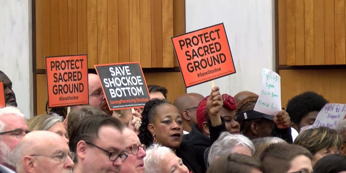 Community group contests Richmond's plans for Shockoe memorial