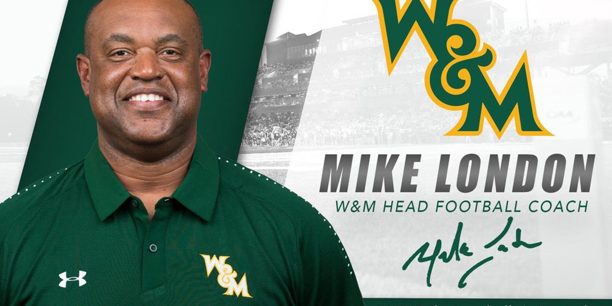 William & Mary hires former Virginia coach Mike London