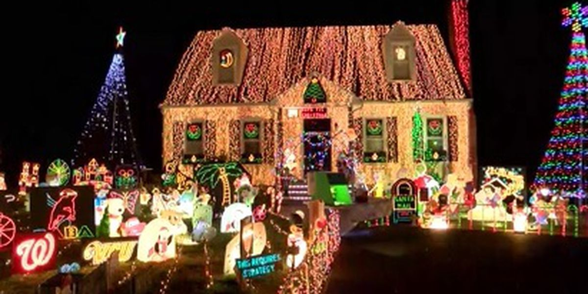Holiday Homes: Mechanicsville home decorated with 150,000 lights