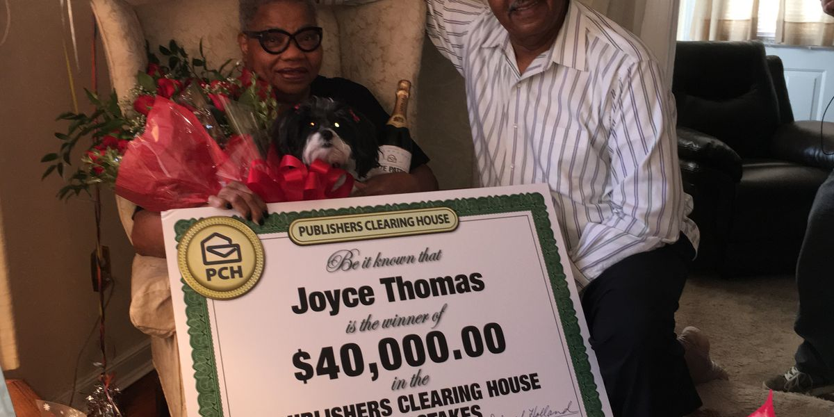 Henrico woman wins $40k from Publishers Clearing House