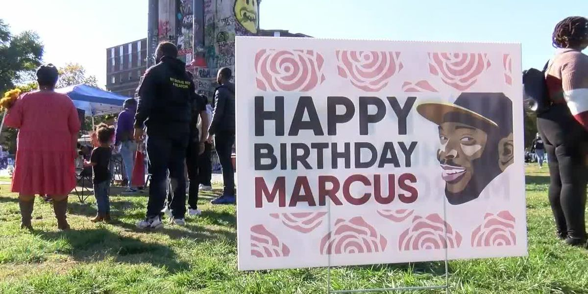 'There's still so much work to be done': Hundreds gather to celebrate Marcus-David Peters' birthday