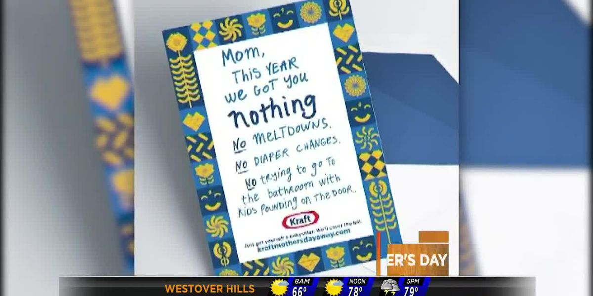 Hey, Mom, want some time alone this Mother's Day? Kraft will pay for your babysitter