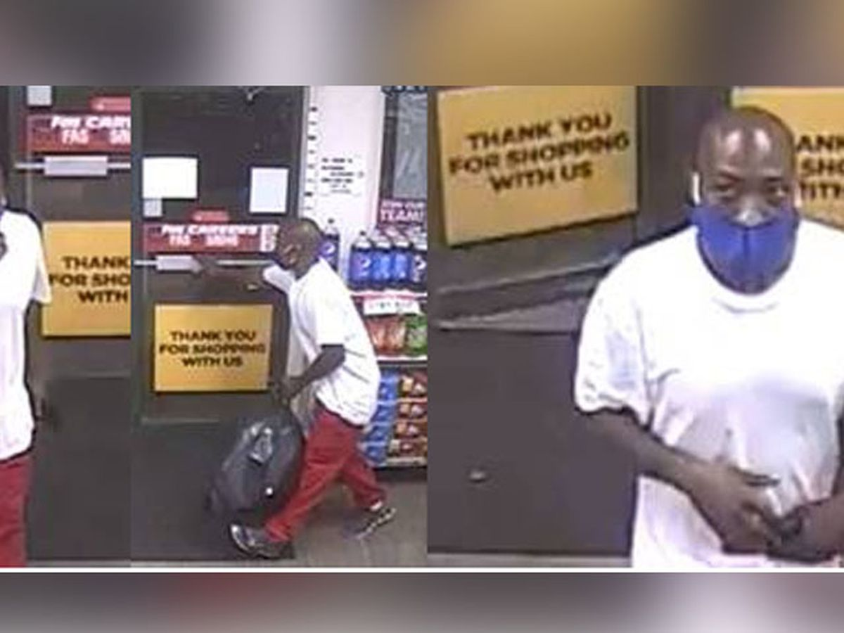 Suspect sought after stealing $100 worth of candy from convenience store
