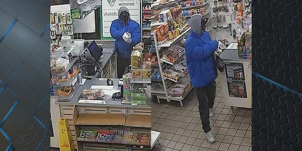 Police ask for public's help identifying armed robber