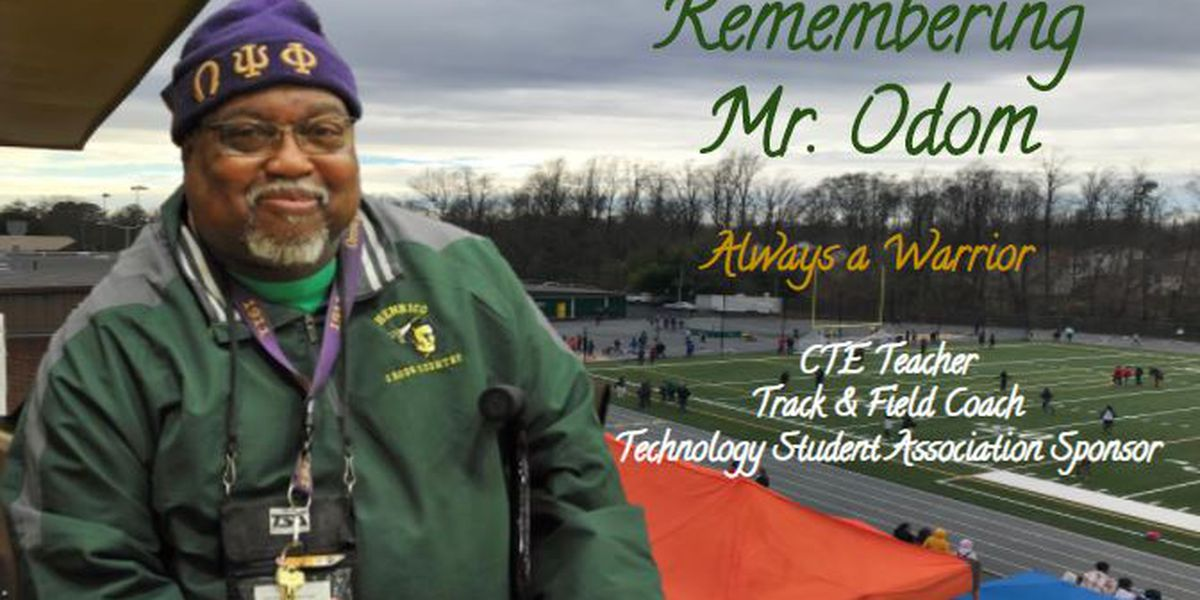 School mourns Henrico teacher, coach who died unexpectedly