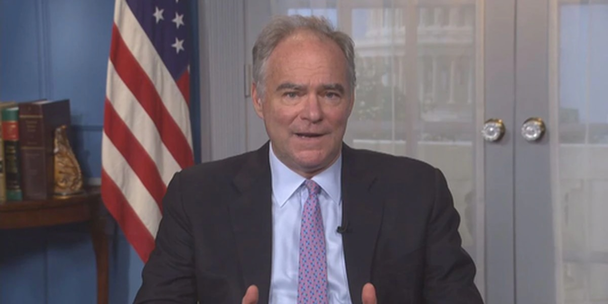 U.S. Senator Kaine deeply disturbed President Trump will not concede to President-elect Joe Biden