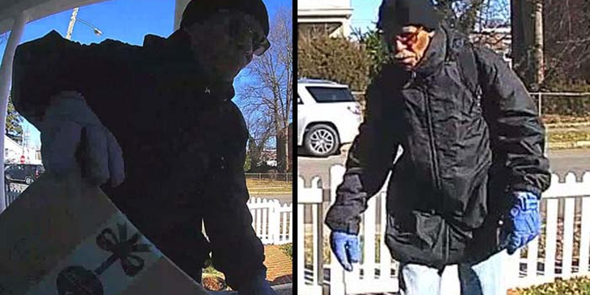VIDEO: RPD asks for help identifying package thief