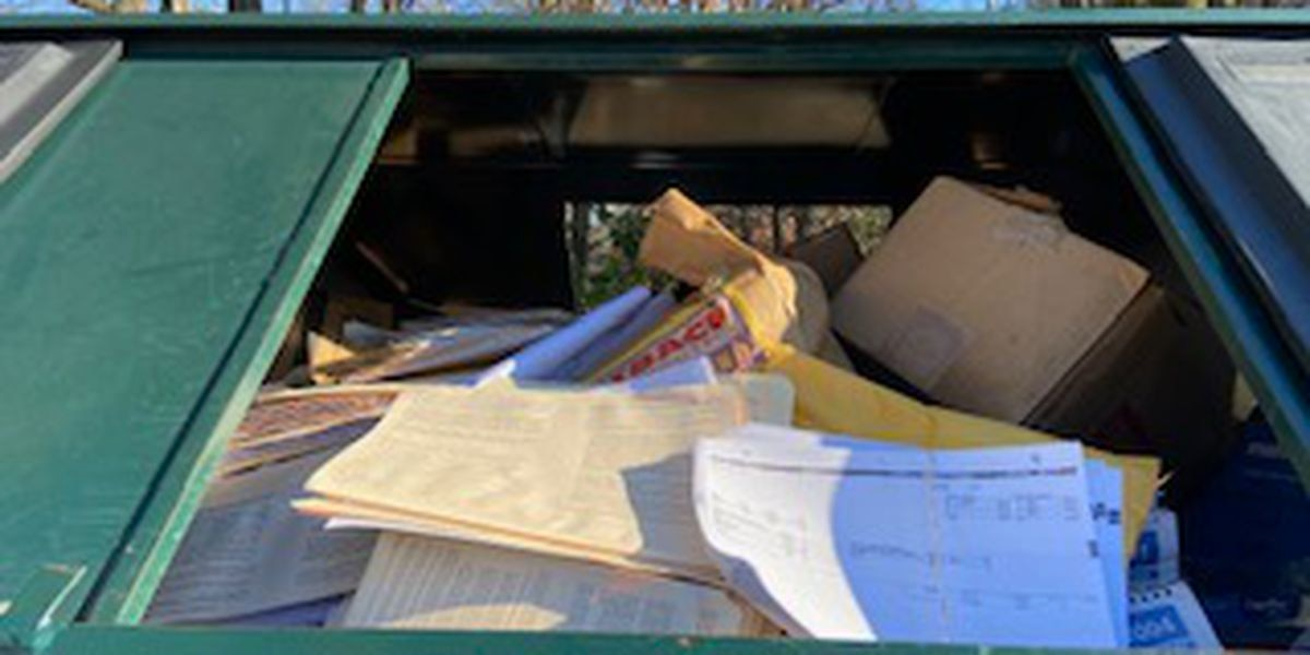 Sensitive documents from Outback Steakhouse found in public dumpster