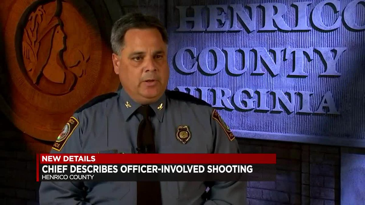 Chief describes officer-involved shooting