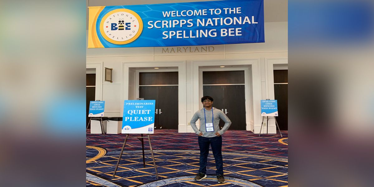 Henrico 8th grader competes in national spelling bee