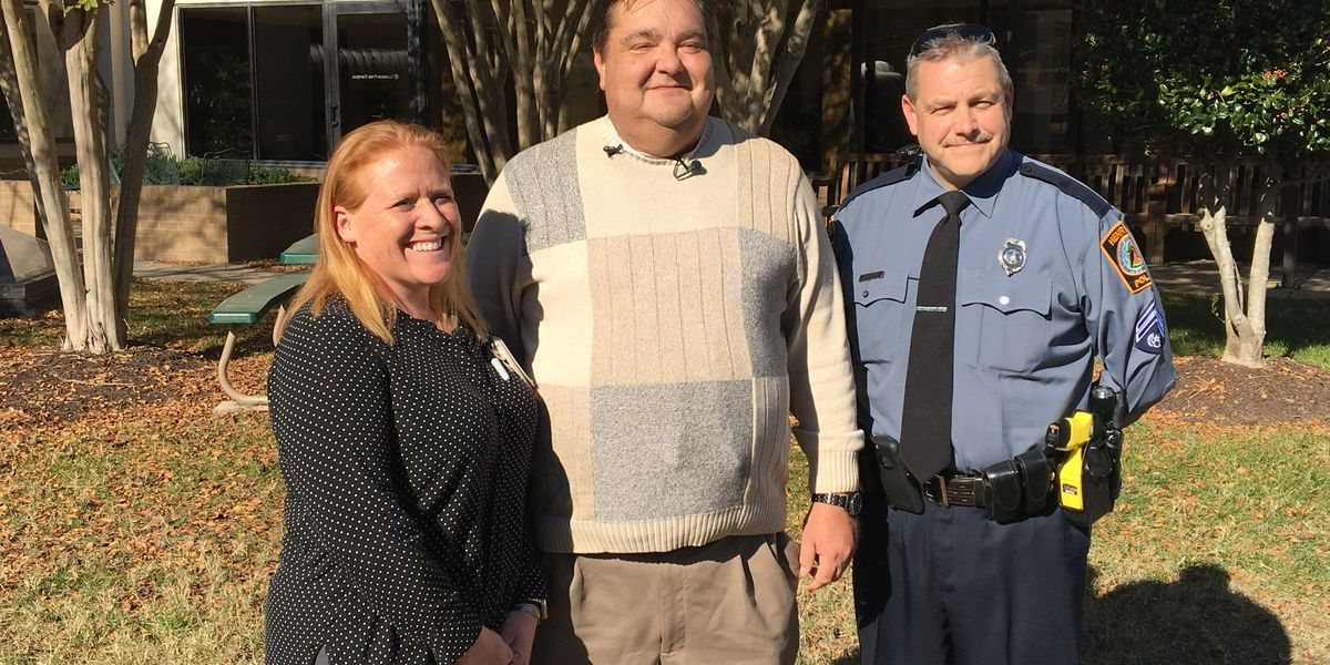 Man reunites with officer, nurses who helped save his life
