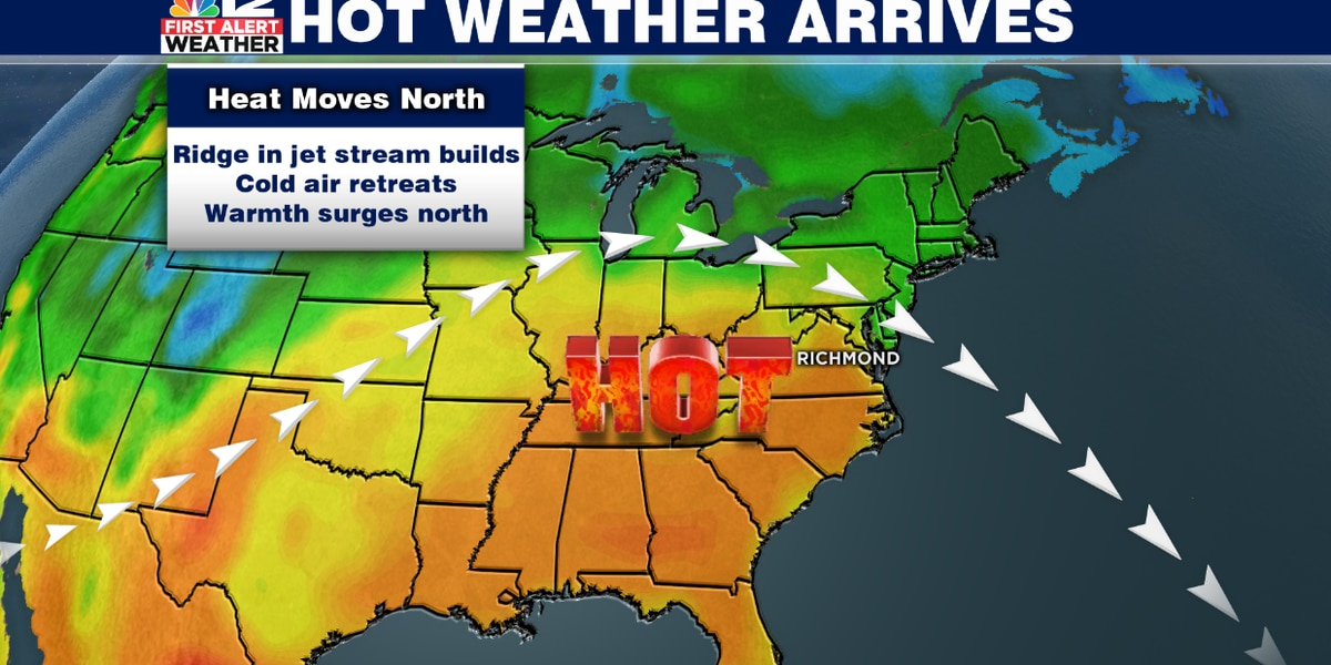 Summer-like warmth arrives in Central Virginia late this week