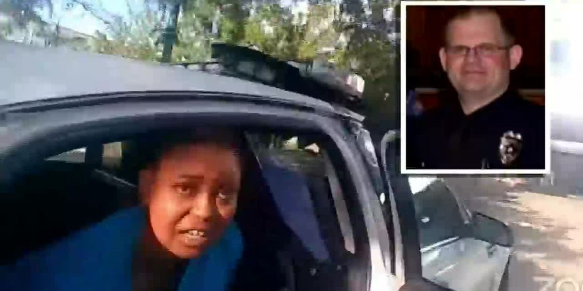GRAPHIC: Officer fired after Black woman hogtied in police cruiser appeals termination