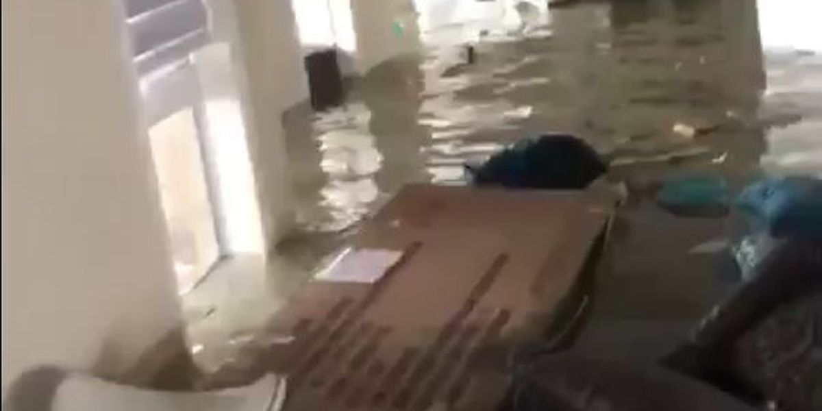 WATCH: Family of Chesterfield woman in Bahamas shares video inside flooded home