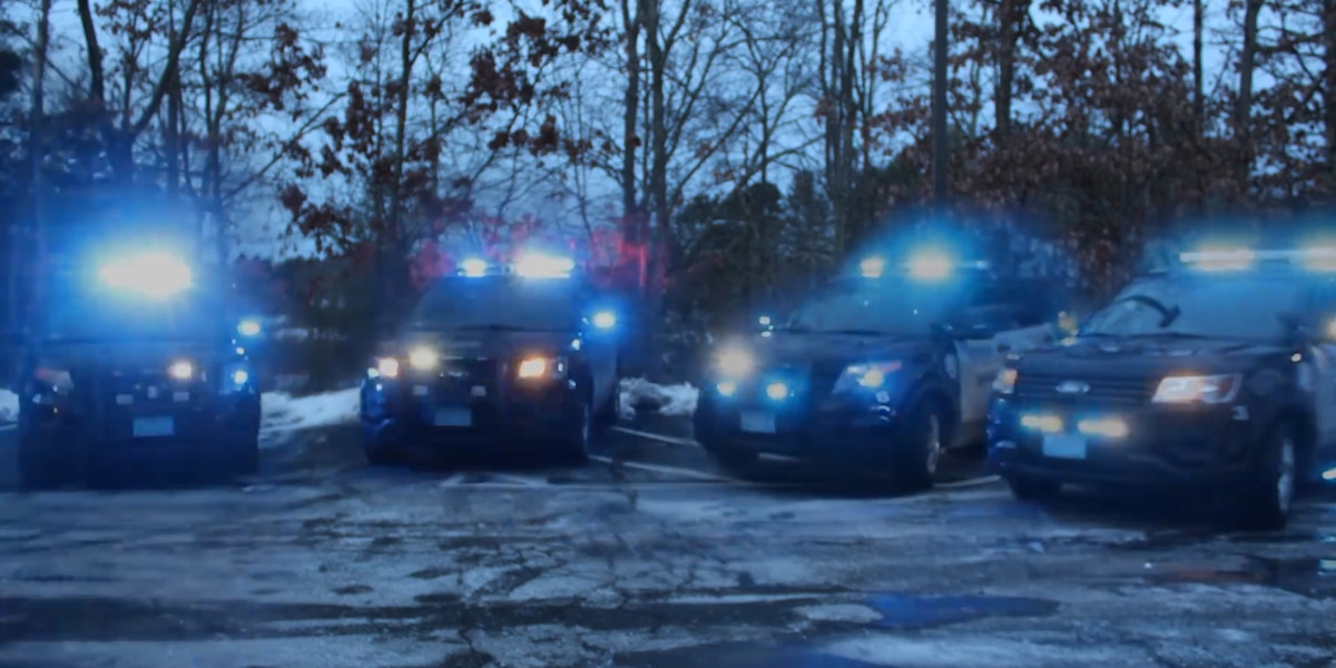MA police cruisers get into holiday spirit with Trans-Siberian Orchestra choreographed video