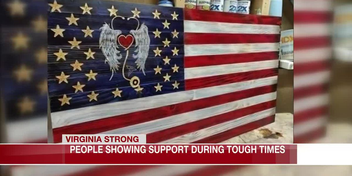 Petersburg woman, Mechanicsville man do their part to show Virginia is strong