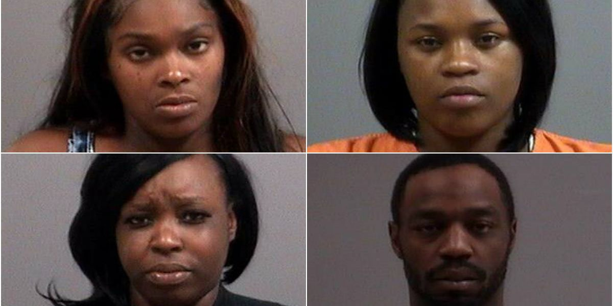 4 arrested after group robs Chesterfield business, leads police on 50-mile chase