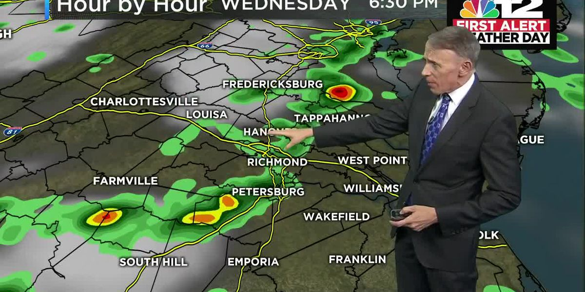 Forecast: First Alert Weather Day Wednesday with strong storms late in the day possible again