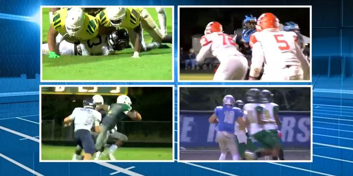 High school football scores - November 16