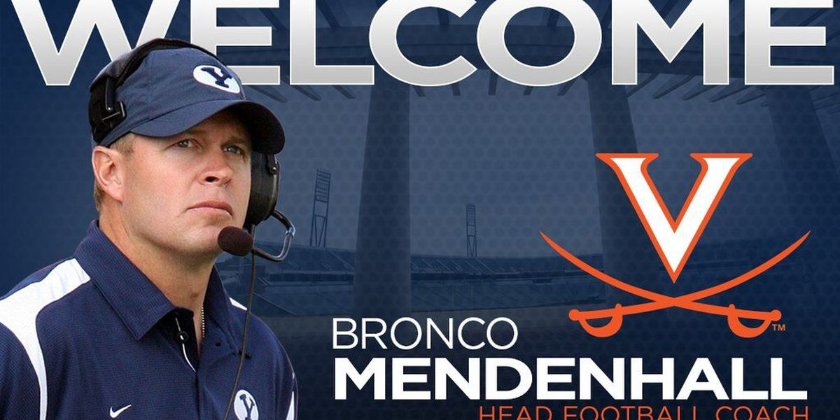 UVA names new head football coach