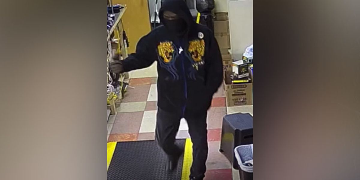 Suspect sought in armed robbery at Hopewell convenience store