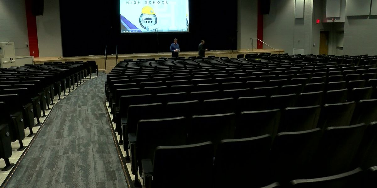 Hanover schools unveil newly renovated auditoriums