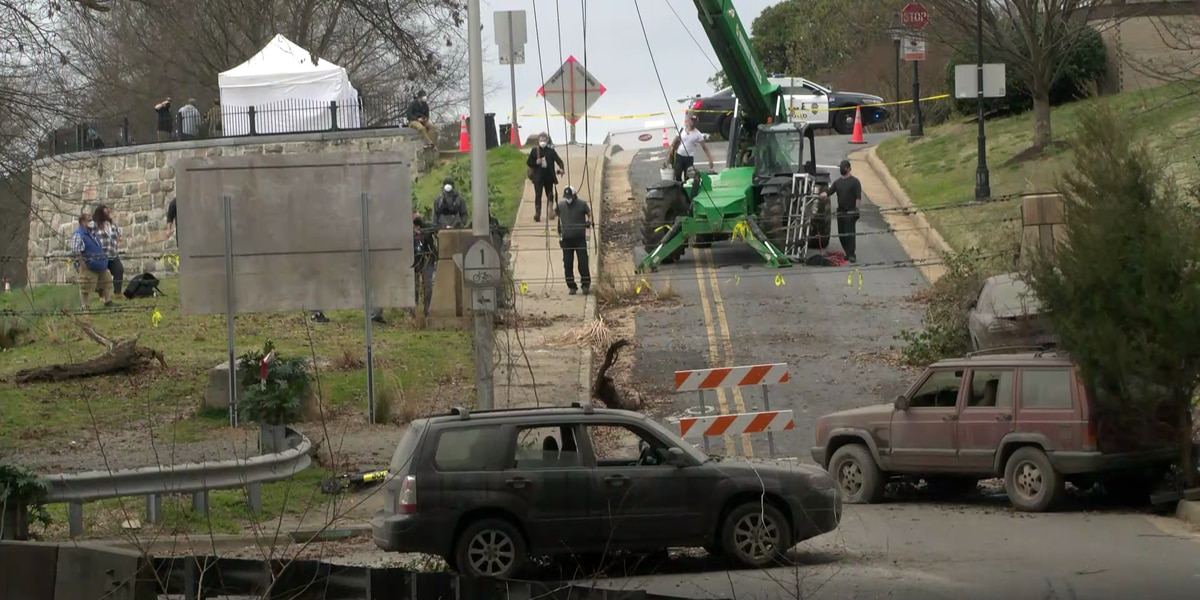 'Walking Dead' show films in Richmond