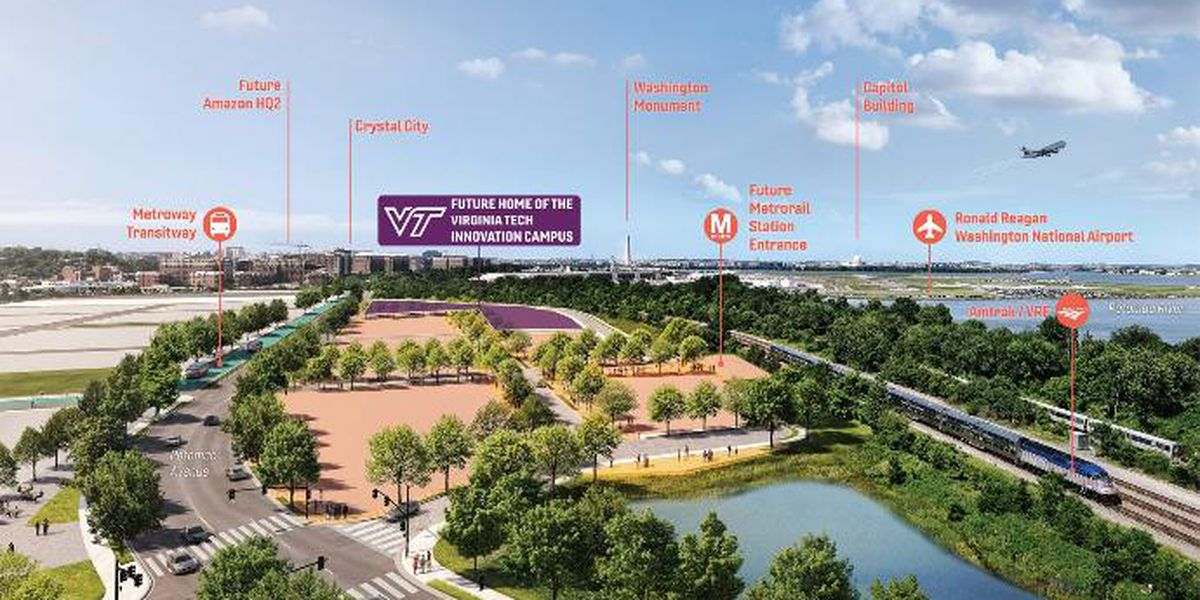 Virginia Tech announces new northern Virginia location for Innovation Campus