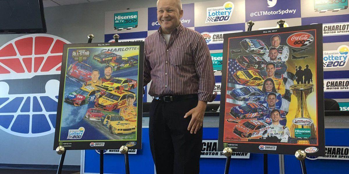 Legendary NASCAR artist, Sam Bass, dies at 57