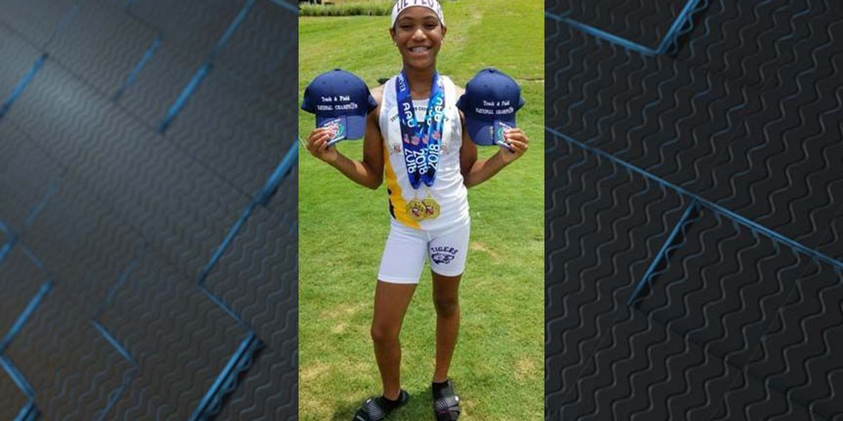 Henrico middle school girl captures national titles in AAU Championship
