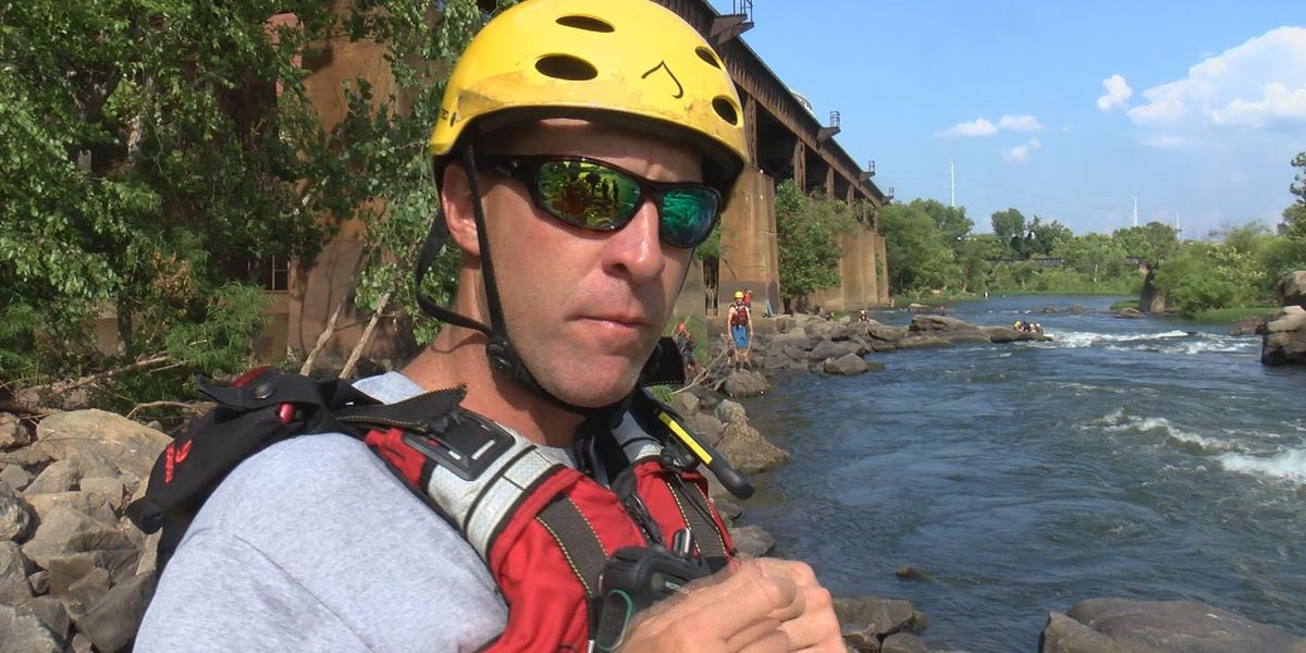 Richmond water rescue team cautions people to wear life jackets on the James