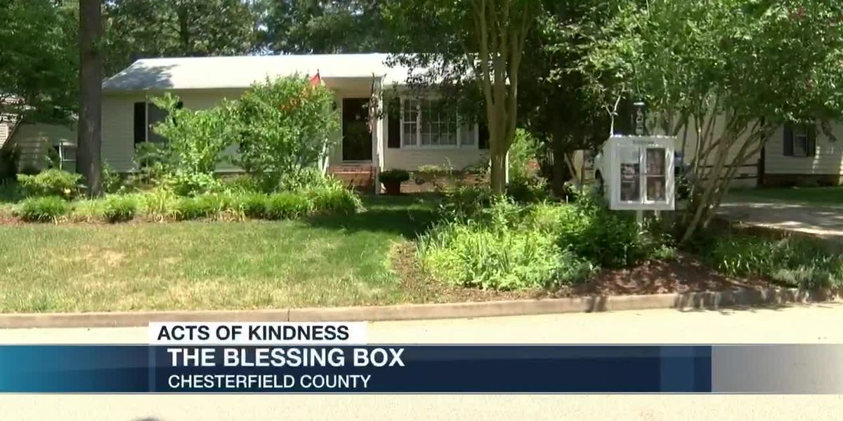 Acts of Kindness: The Blessing Box