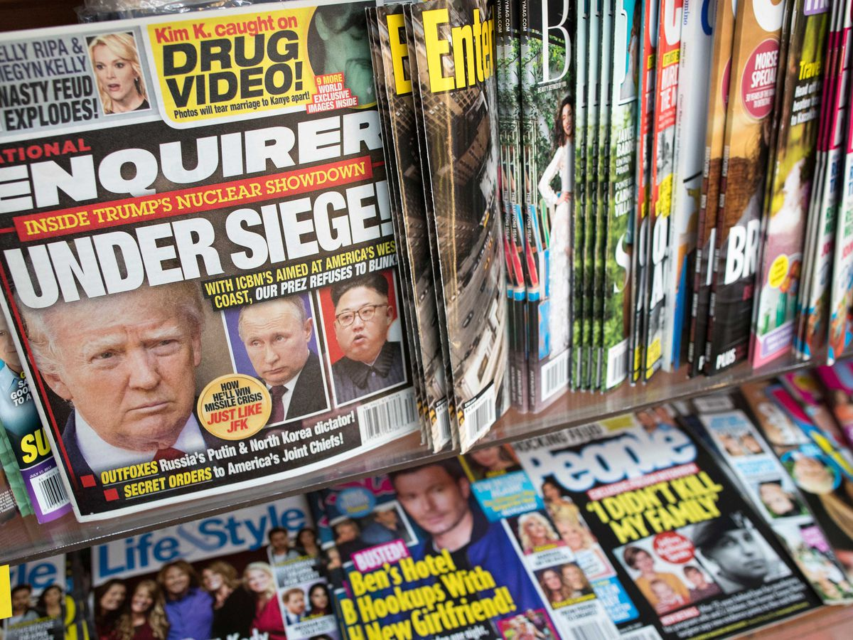 National Enquirer publisher strikes deal with feds