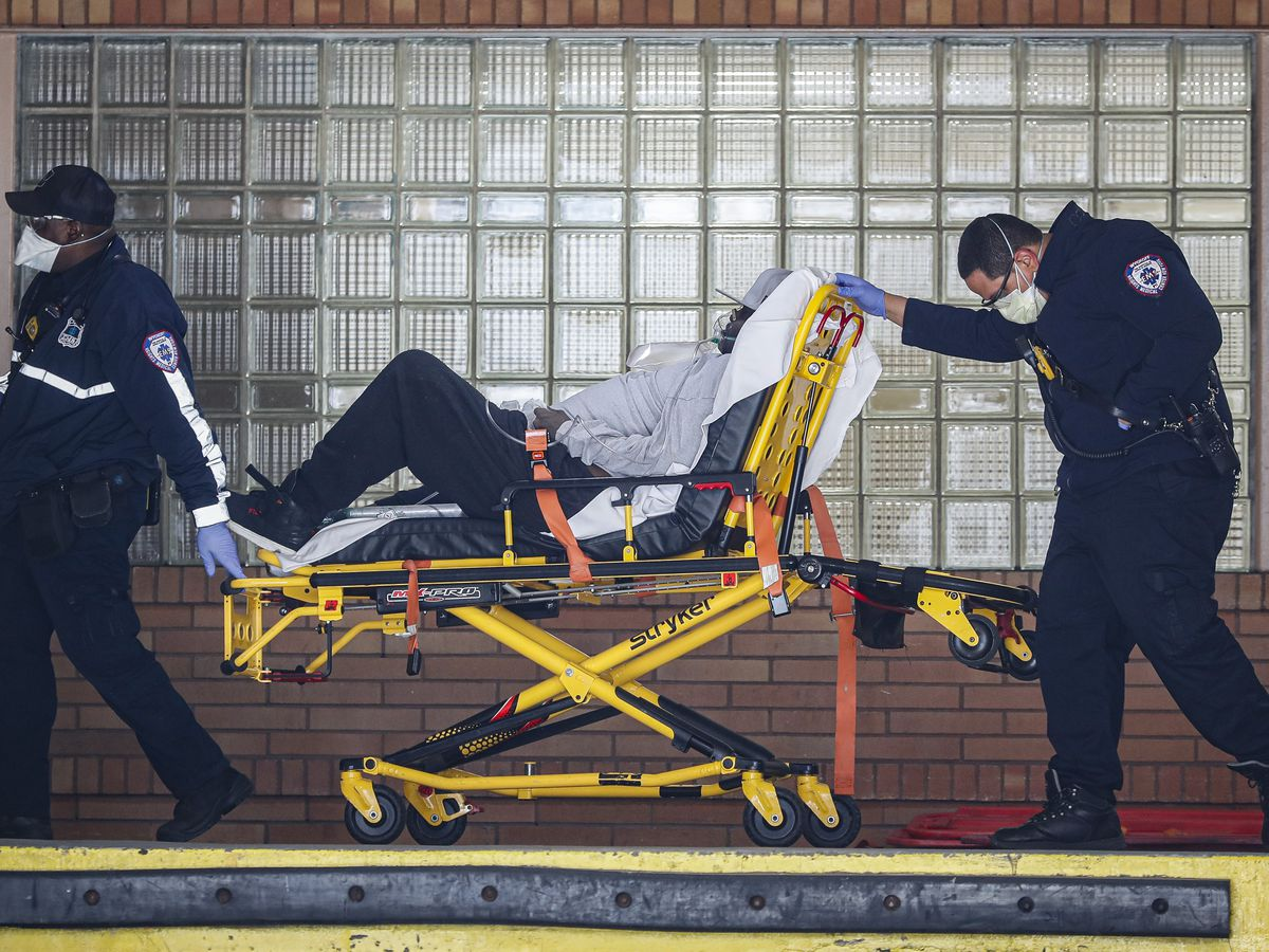 NYC virus deaths exceed 3,200, topping toll for 9/11 attacks