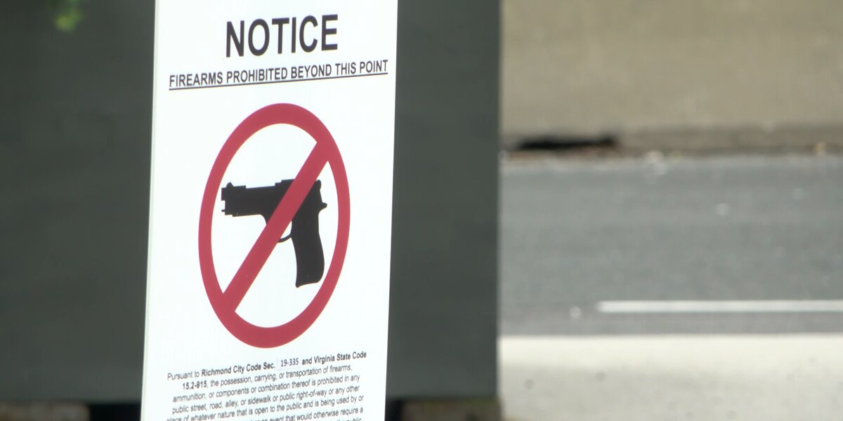 Councilman concerned about firearms ordinance enforcement in Richmond; at least 1 confiscated