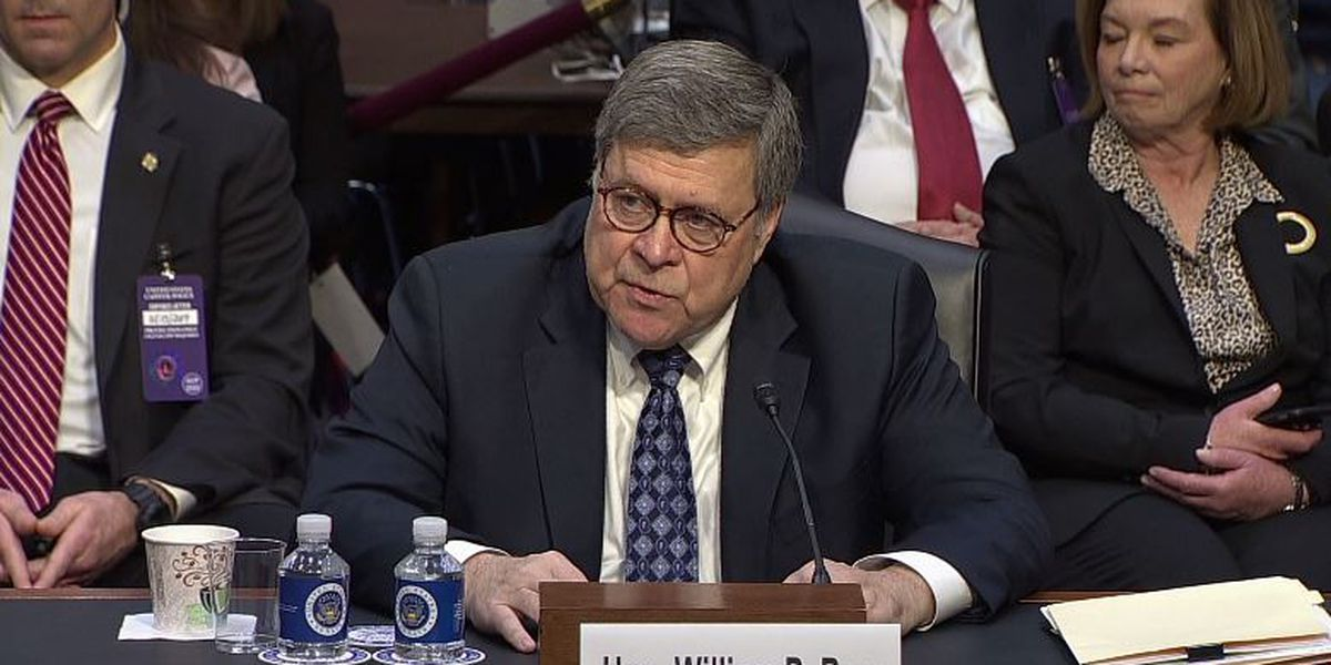 Attorney general nominee Barr seeks to assure senators he won't be a Trump loyalist