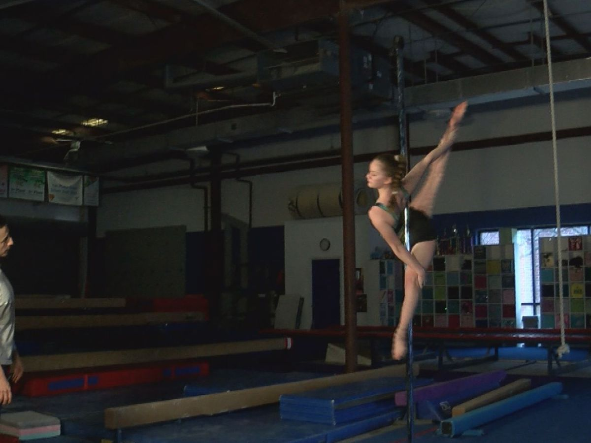 14-year-old world pole sport champion aims to change perception of sport