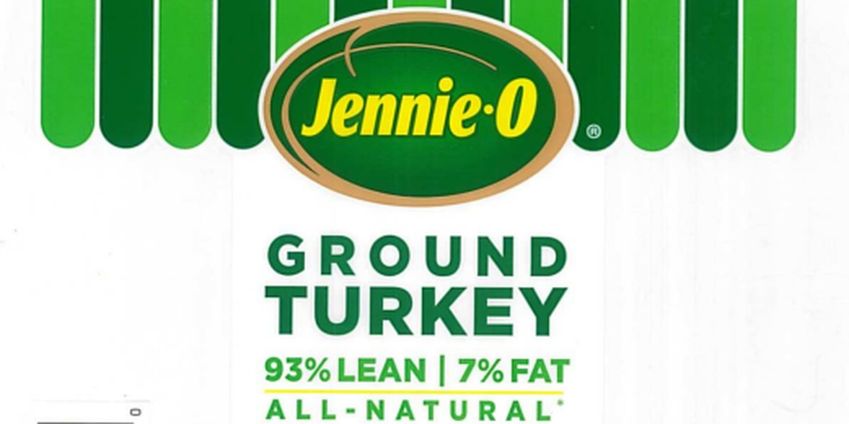 Jennie-O recalling 164K pounds of raw ground turkey due to Salmonella concerns