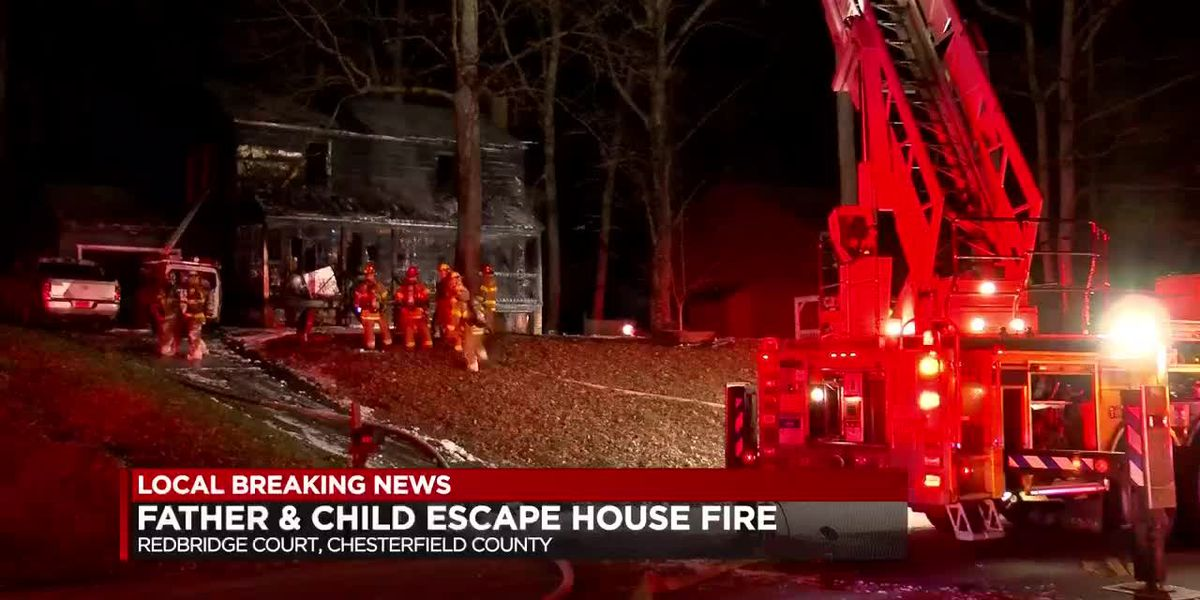 Fire destroys Chesterfield home