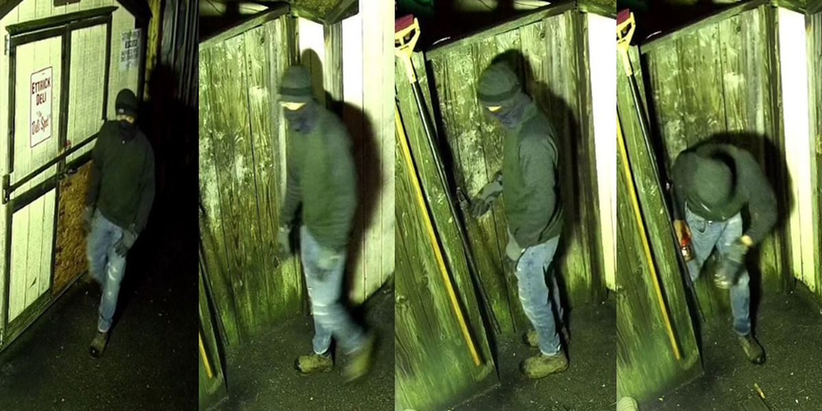 Police search for suspect who burglarized Chesterfield restaurant