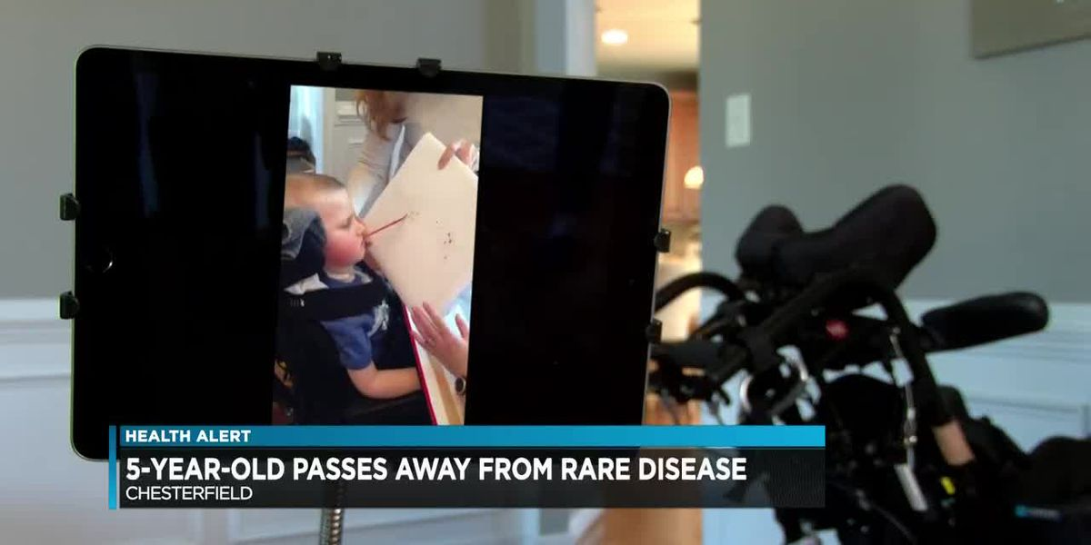 'He was full of love:' 5-year-old passes away after battle with rare childhood disease