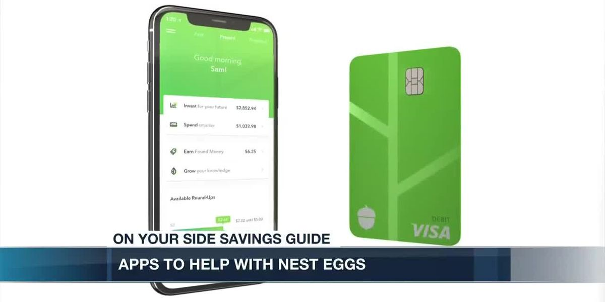Apps to help with your nest egg