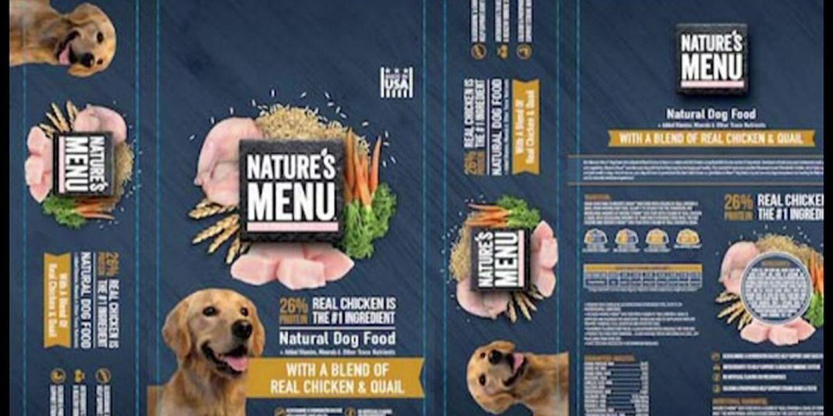 Dog food sold nationwide recalled over salmonella concern