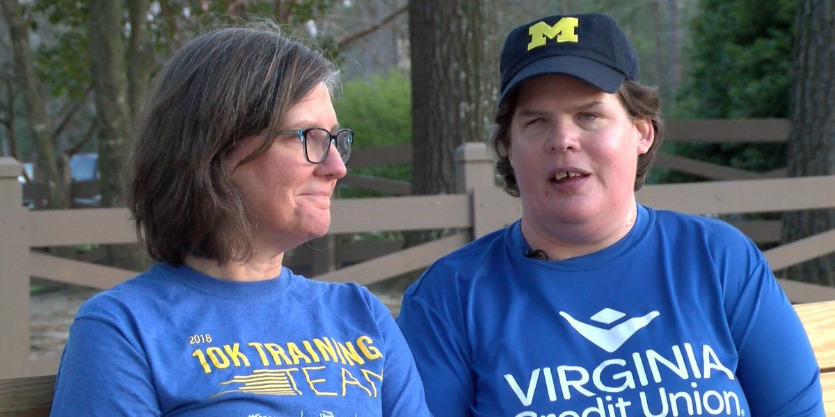 Blind woman to run in Monument Avenue 10K