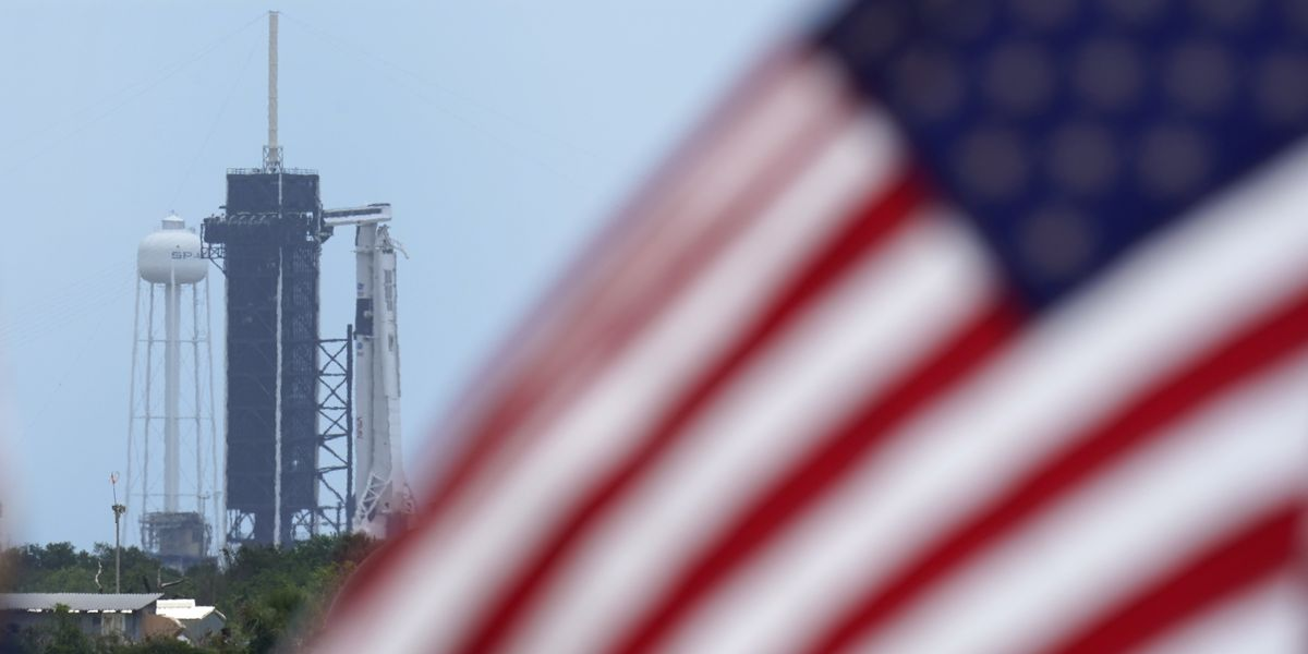 LIVE: 2 astronauts climb aboard SpaceX rocket for historic flight