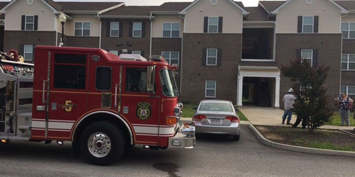 11 displaced after water heater fire in apartment building